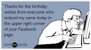 happy facebook birthday