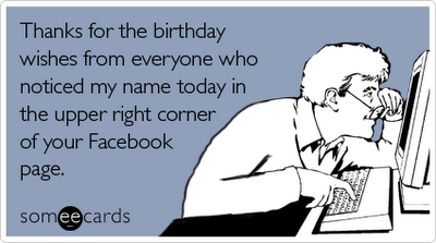Happy Facebook Birthday Everyone