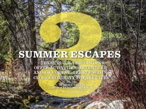 dishing summer escapes